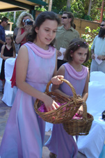 2007 girls were flowergirls