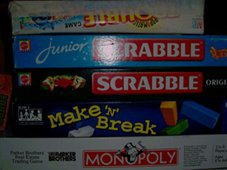 Games on our resource shelf