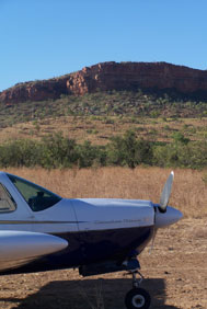 Peter's Plane in the Kimberley